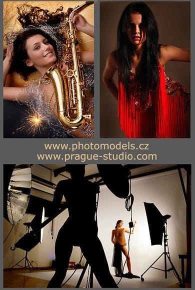 Photostudio in centre of Prague - excelent place, equipment, models