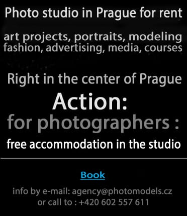 Action - free accomodation for photographers in Prague